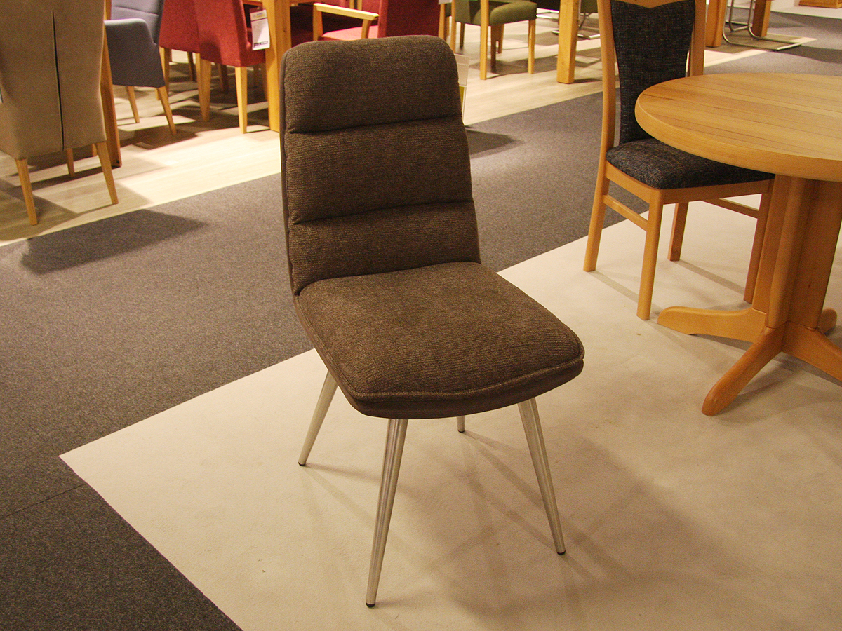 4-Fuß Stuhl Braun ANNI