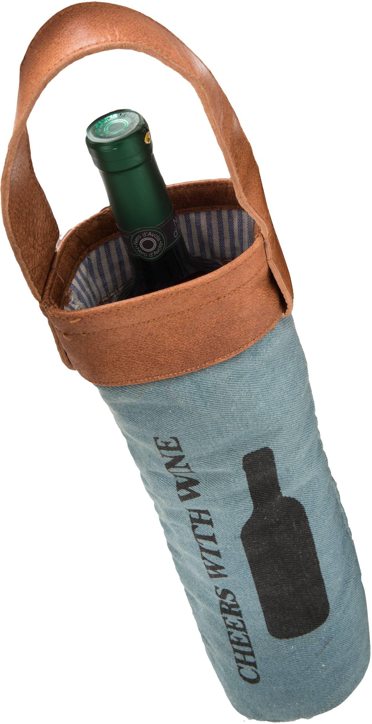 Tasche für Flasche PEGGY