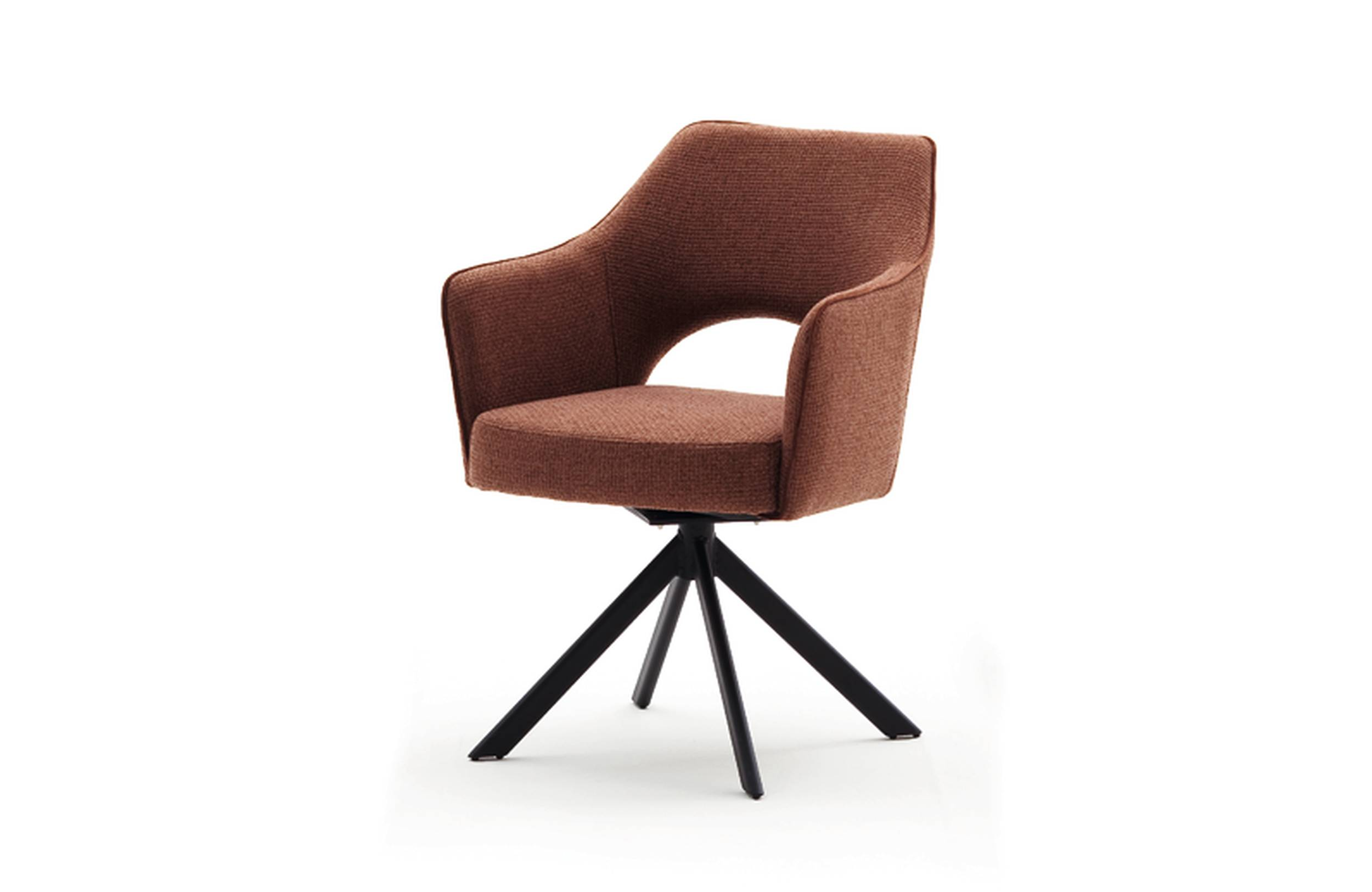 4-Fuß-Stuhl mit Armlehne   TOSKANA