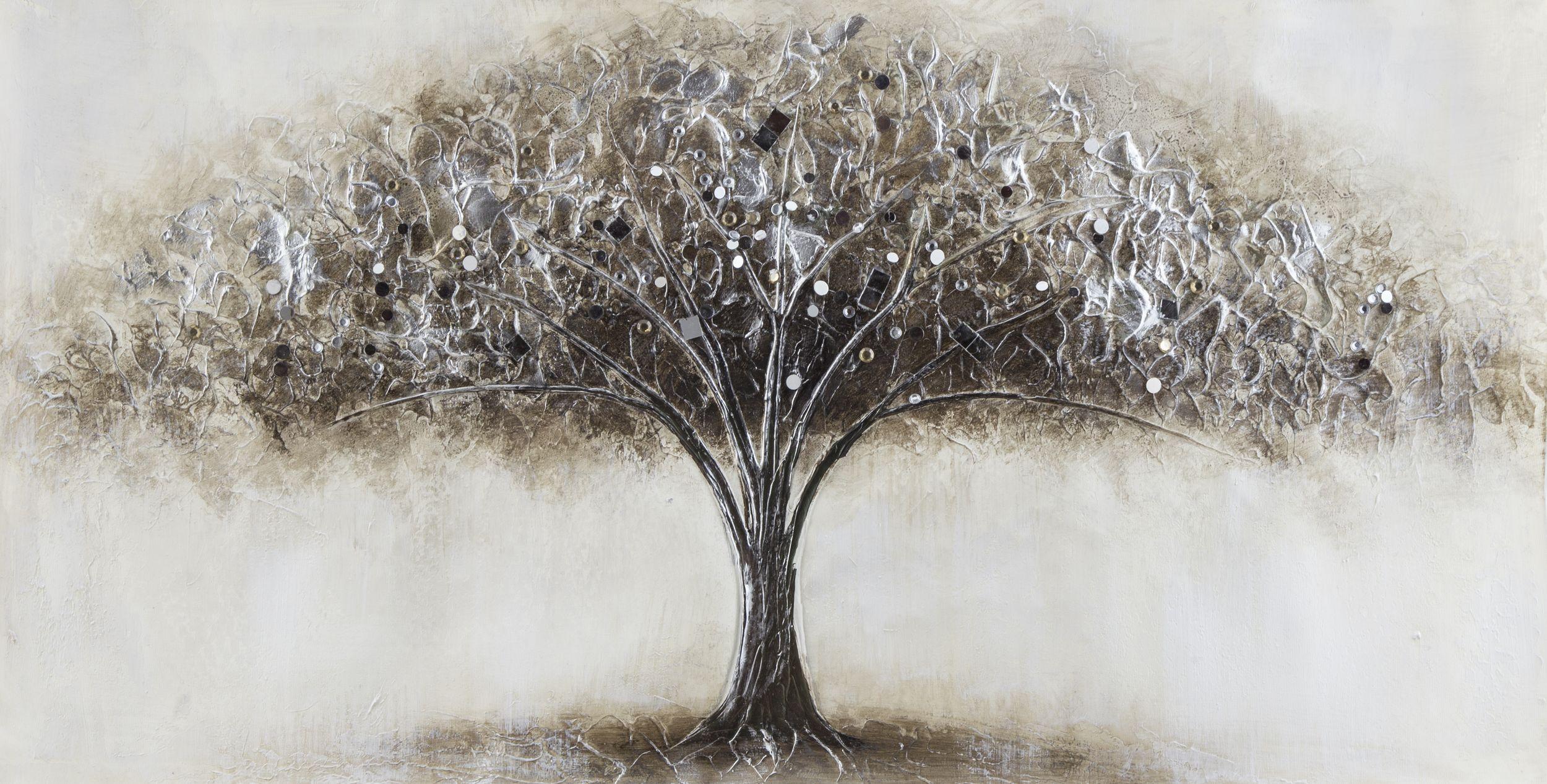 Leinwandbild 40x80cm ORIGINAL NESTO, TREE II