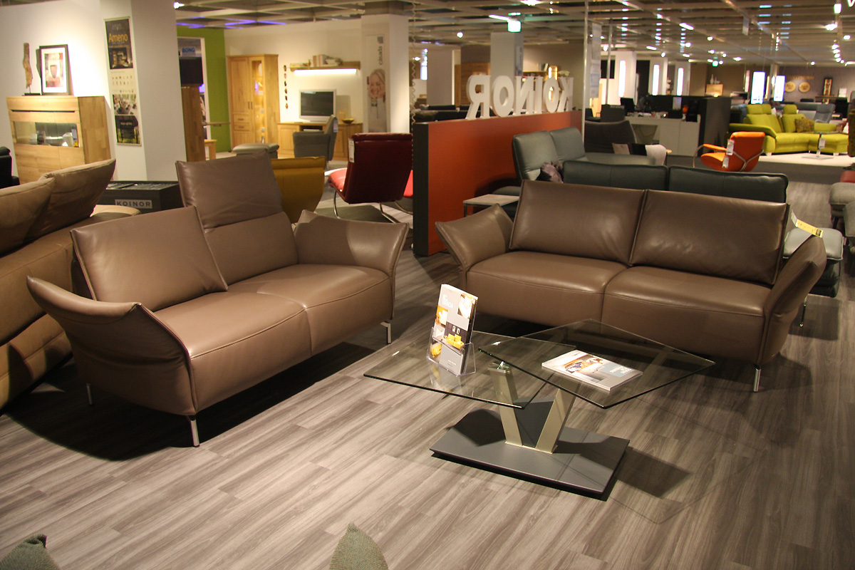 Leder-Sofa 2,5 sitzig  KALINDA