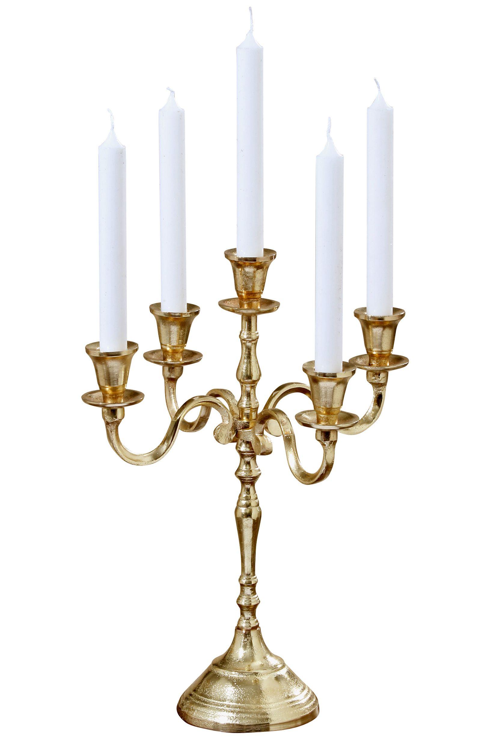Kerzenleuchter 5er, 40cm VICTORIA