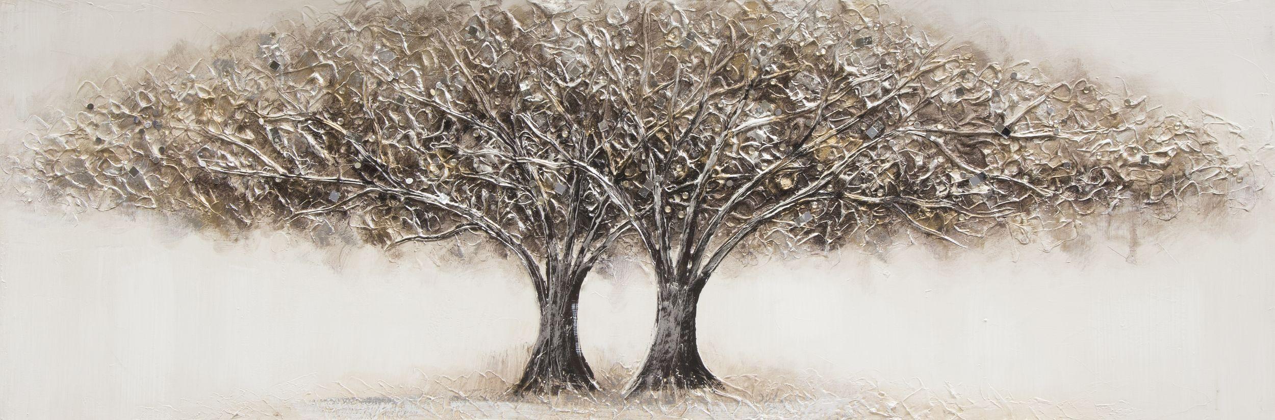 Keilrahmenbild 50x150cm ORIGINAL SORDAN, TREE