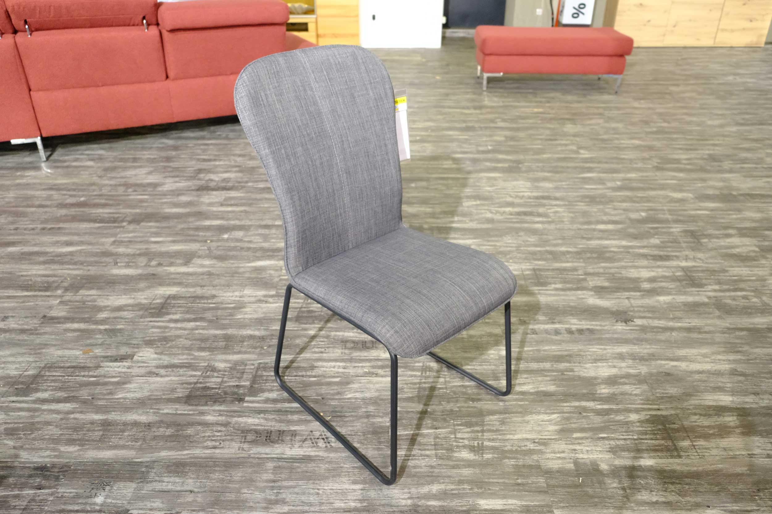 4-Fuß-Stuhl Grau CASADA