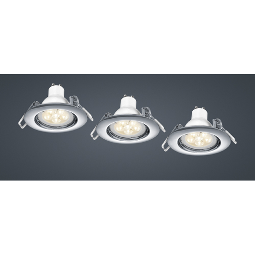 LED Einbauleuchte 3er Set
