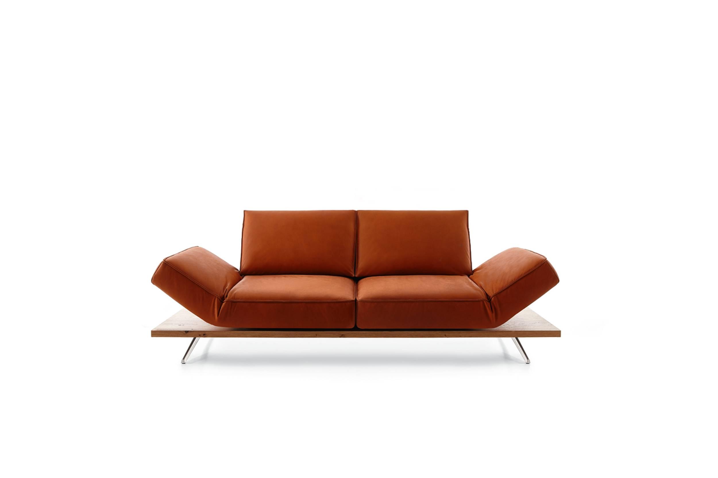 Leder-Sofa 2,5-sitzig  PHOENIX
