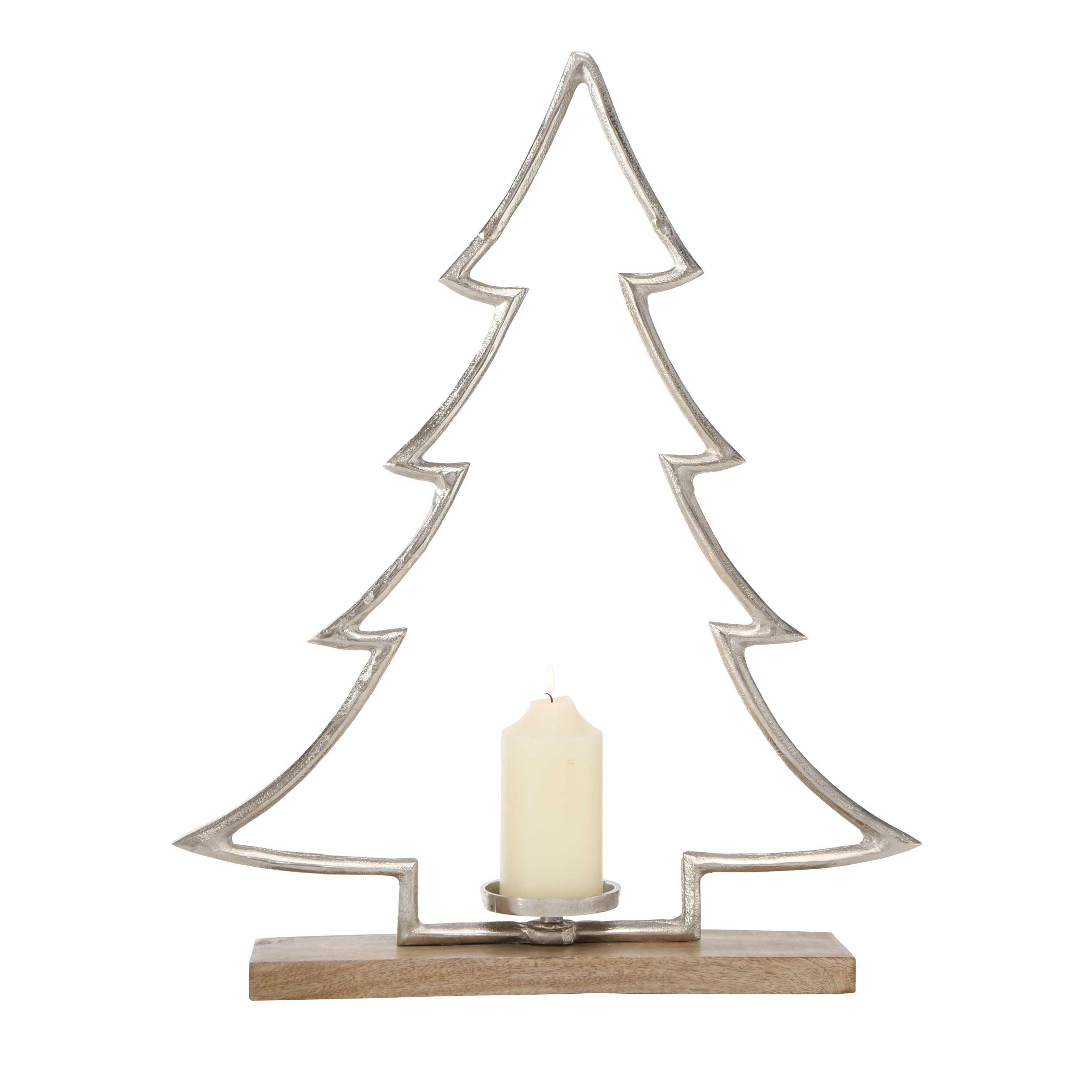 Kerzenhalter Weihnachtsbaum TATJE